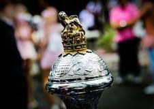 Tamboer-majoorstok Royalty-vrije Stock Afbeeldingen