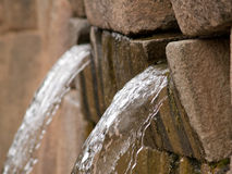 Tambomachay. Water fountains from the ancient Incas, Cuzco, Peru Stock Photo