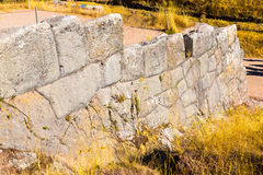 Tambomachay -archaeological site in Peru, near Cuzco. Devoted to cult of water Royalty Free Stock Image