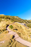 Tambomachay -archaeological site in Peru, near Cuzco. Devoted to cult of water Royalty Free Stock Images