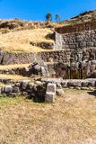 Tambomachay -archaeological site in Peru, near Cuzco. Devoted to cult of water Stock Image