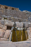 Tambomachay or Bath of the Inka Royalty Free Stock Photo