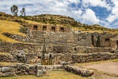Tambomachay complesso archeologico Fotografie Stock Libere da Diritti