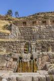 Tambomachay ruiniert Cuzco Peru Lizenzfreie Stockfotos