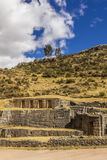 Tambomachay ruins Cuzco Peru Royalty Free Stock Photo