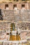 Tambomachay ruins peruvian Andes  Cuzco Peru Stock Photo
