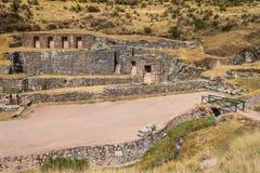 Tambomachay ruins peruvian Andes  Cuzco Peru Stock Images