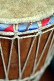 Tambor africano del djembe fotografía de archivo