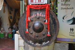 Tambor budista del rezo Fotografía de archivo libre de regalías