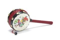 Tambor chino del juguete foto de archivo
