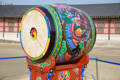 Tambor coreano del tradional fotografía de archivo libre de regalías