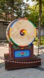 Tambor coreano del tradional fotos de archivo libres de regalías