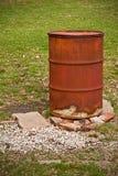 Tambor da queimadura Imagens de Stock Royalty Free