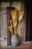 Tambor das vassouras Imagem de Stock