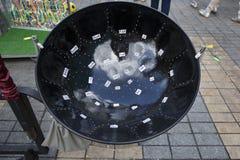 Tambor de acero del metal del Caribe del estilo Imagen de archivo libre de regalías