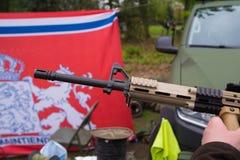 Tambor de arma militar foto de stock