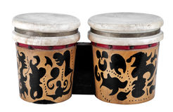 Tambor de bongo Fotos de archivo libres de regalías