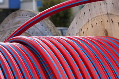 Tambor de cable Fotografía de archivo libre de regalías