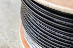 Tambor de cable Imagen de archivo libre de regalías