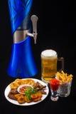 Tambor de cerveja Foto de Stock