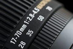 Tambor de lente fotografia de stock