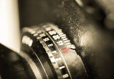 Tambor de lente da câmera de vista Imagens de Stock