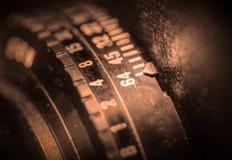Tambor de lente da câmera de vista Fotografia de Stock Royalty Free