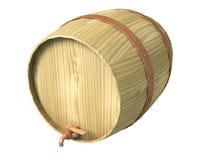 Tambor de madeira ilustração do vetor