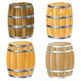 Tambor de madeira de Foto de Stock