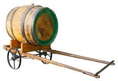 Tambor de madeira no carro fotos de stock royalty free