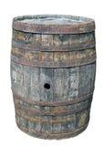 Tambor de madeira velho fotografia de stock