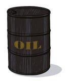 Tambor de petróleo Fotografia de Stock Royalty Free
