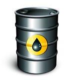 Tambor de petróleo ilustração stock