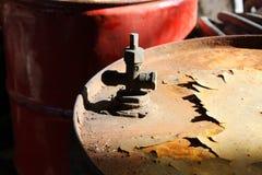 Tambor de petróleo Imagen de archivo libre de regalías