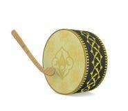 Tambor de Ramadan Instrumento musical de la cultura turca Imagen de archivo