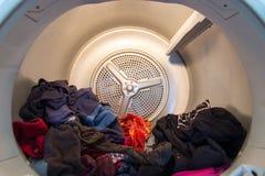 Tambor de un secador dometstic de la caída Fotografía de archivo