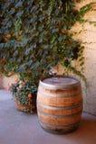 Tambor de vinho Imagem de Stock