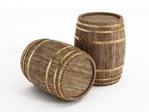 Tambor de vinho Imagens de Stock