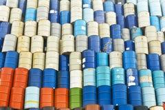 Tambor del depósito de gasolina Fotos de archivo libres de regalías