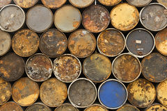 Tambor del depósito de gasolina Imagen de archivo
