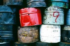 Tambor del depósito de gasolina Fotografía de archivo libre de regalías