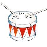 tambor del estaño Foto de archivo