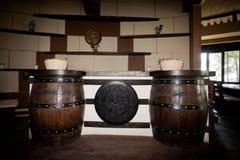 Tambor do carvalho foto de stock royalty free