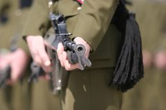 Tambor do rifle Imagens de Stock Royalty Free