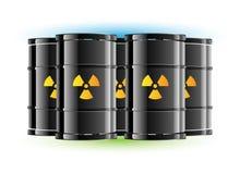 Tambor do sinal da radiação Fotografia de Stock Royalty Free