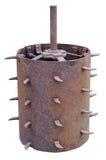 Tambor espinoso oxidado imagen de archivo libre de regalías