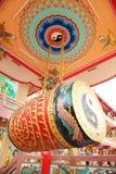 Tambor muy grande de China en templo de China Imagen de archivo libre de regalías