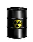 Tambor nuclear ilustración del vector