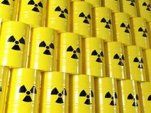 Tambor radioativo ilustração stock