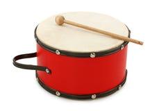 Tambor rojo Imagen de archivo libre de regalías